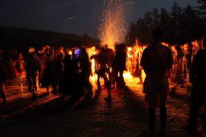 Rites of Spring Firelighting