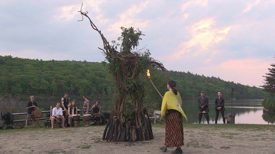 WickerMan at EarthSpirit Rites of Spring 2016