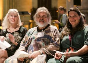 Phyllis Curott, Andras & Deirdre Arthen at Multifaith Service