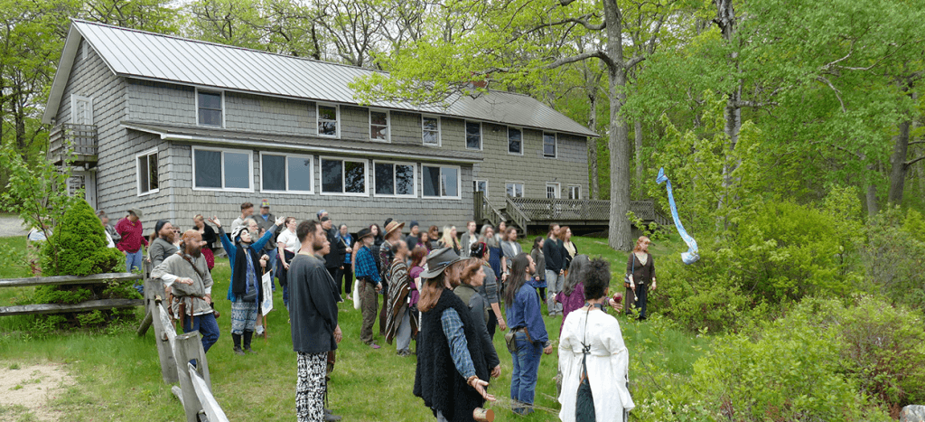 Rites of Spring Bear Rock Blessing