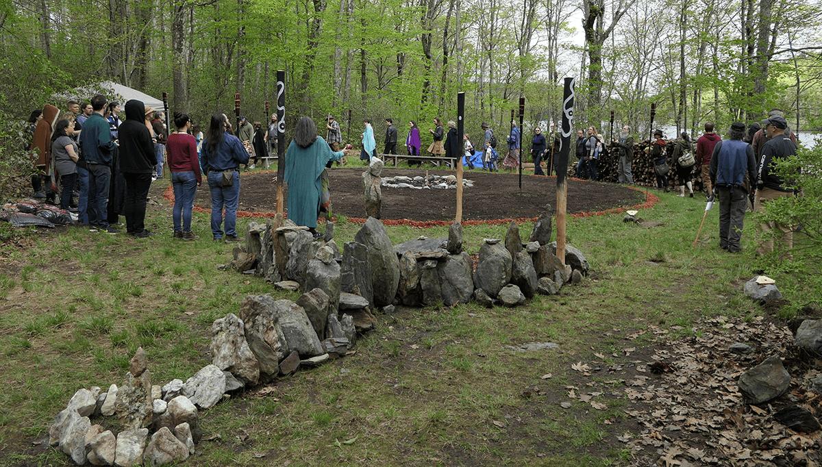 Rites of Spring Fire Circle Village Builders EarthSpirit
