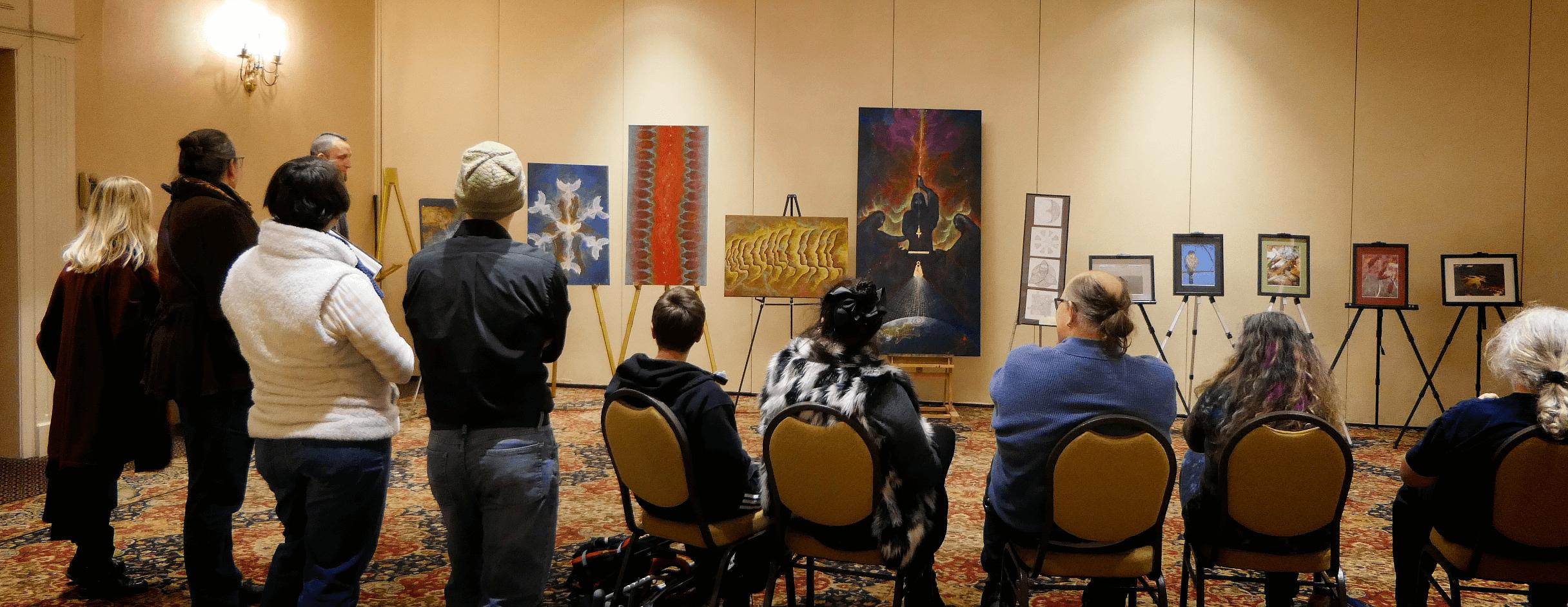 A Feast of Lights Art Salon