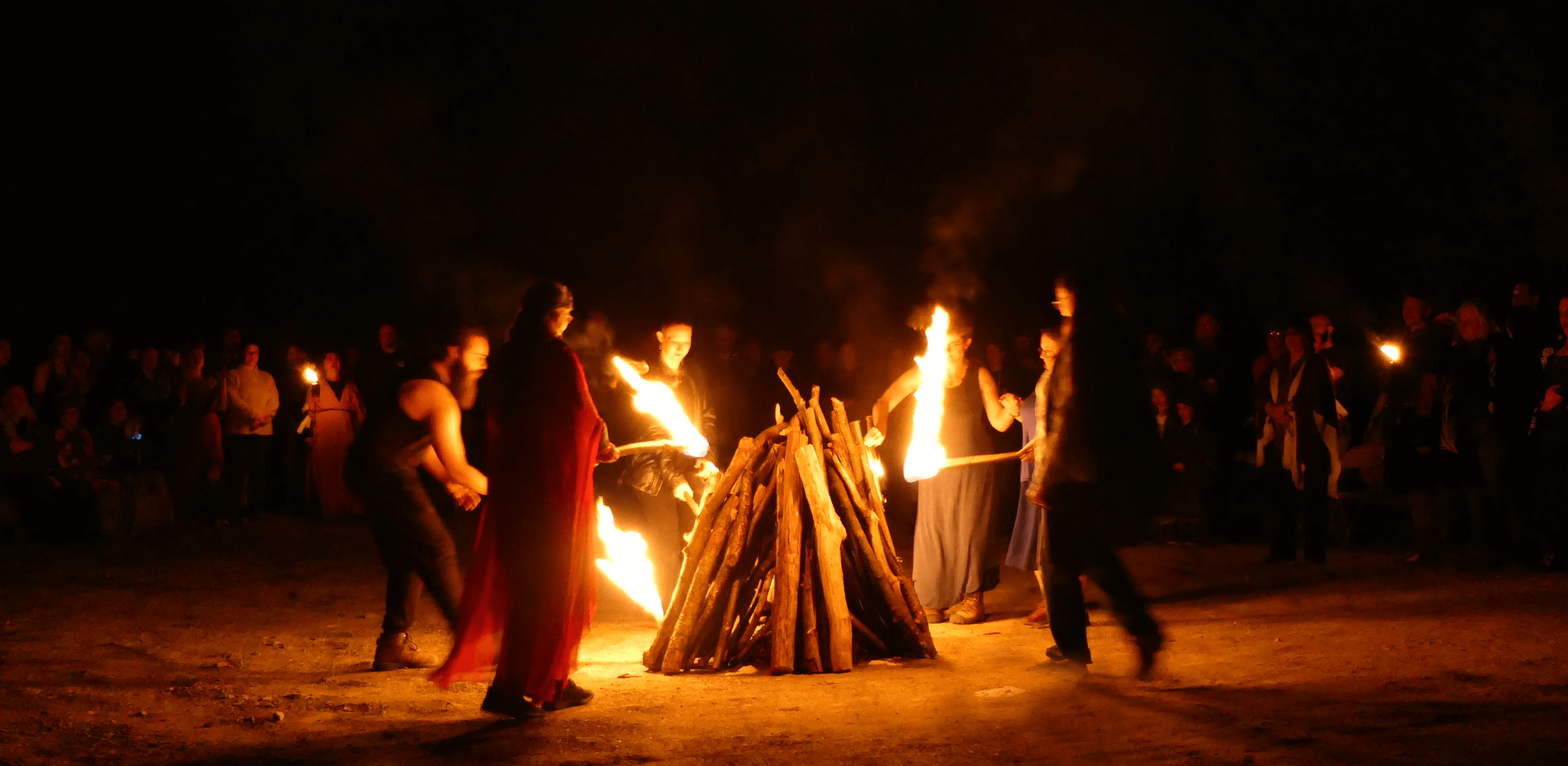 Rites of Spring 41 Fire Lighting