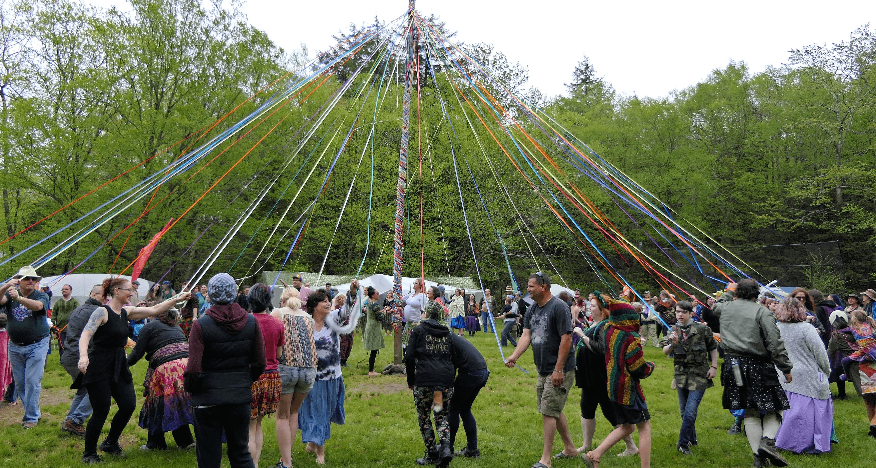 Rites of Spring 41 maypole