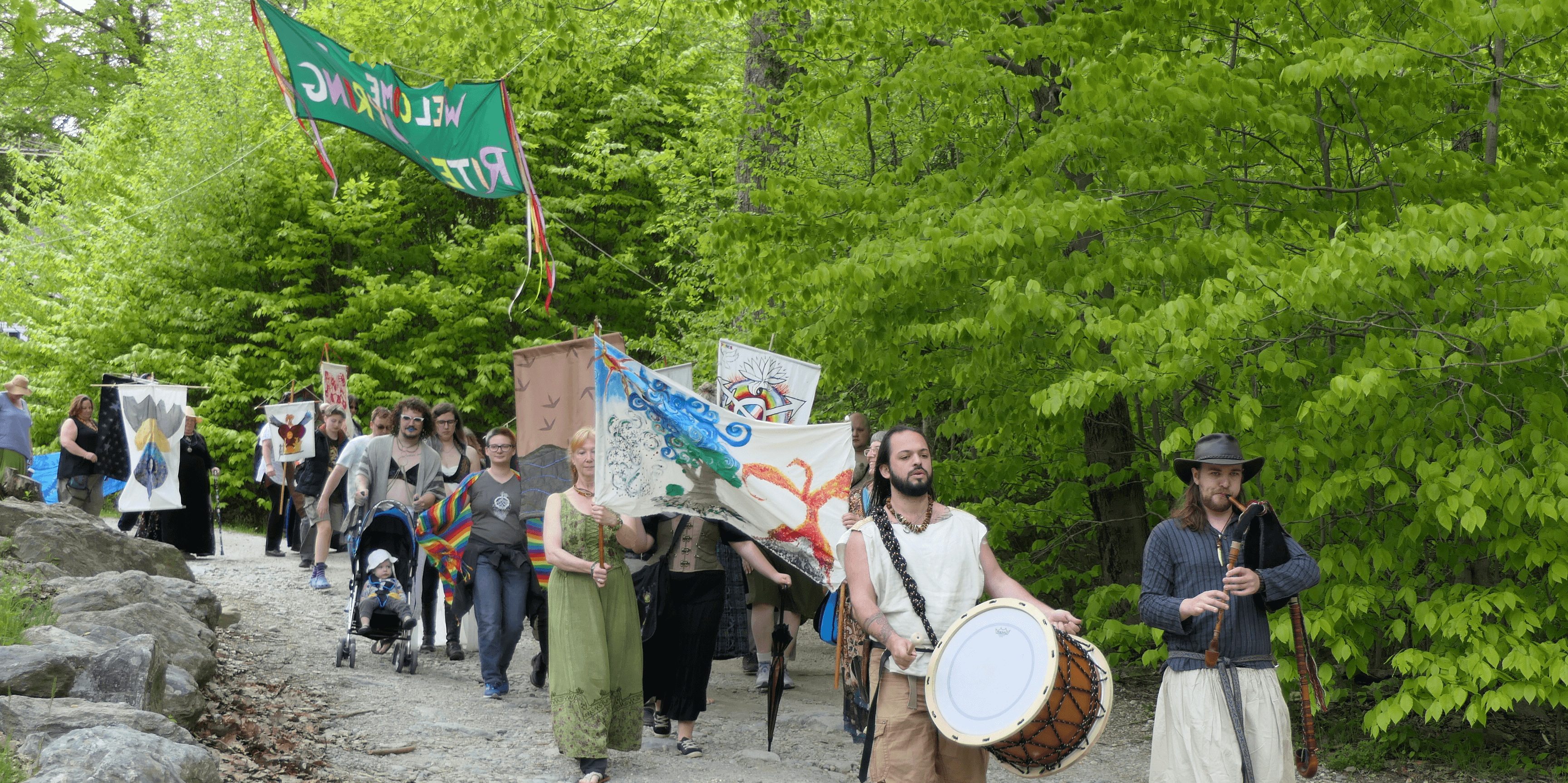 Rites of Spring 41 Procession