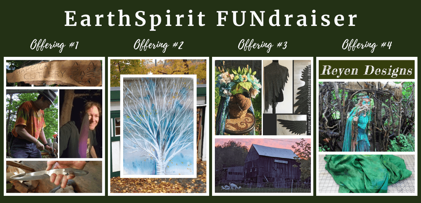 EarthSpirit FUNdraiser Offerings
