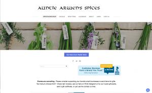 Auntie Arwen's Spices ROS Vendor