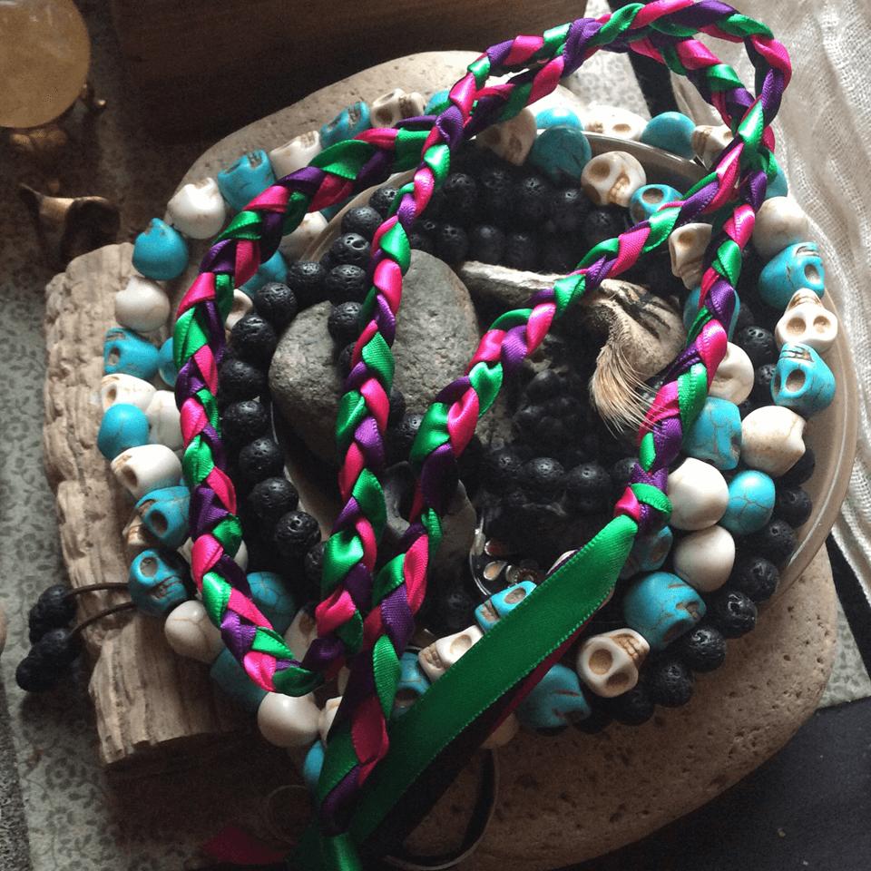 EarthSpirit Virtual Beltane Braided Ribbons